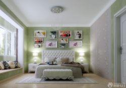 歐式風格新房床頭背景墻裝修設計效果圖