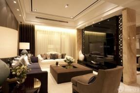 新中式客廳吊頂 新中式風格樣板間