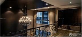 中式別墅設計圖 樓梯扶手圖片