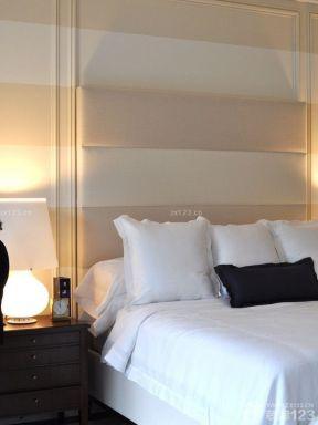 4萬元90平米裝修 臥室床頭背景墻