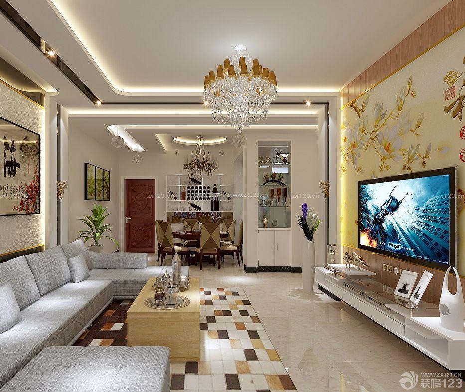 现代家装风格80平方房子室内装修效果图