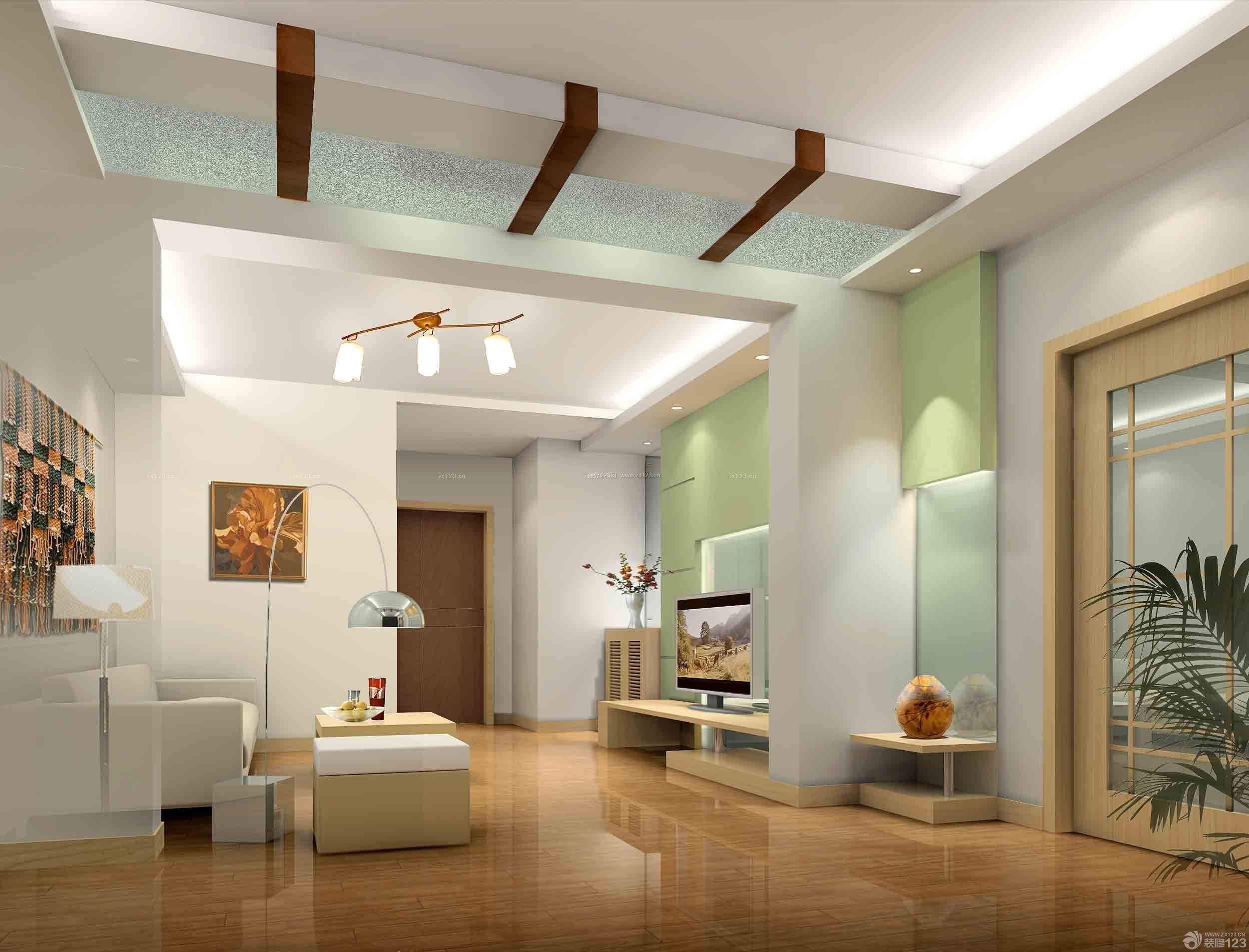 现代简约家装130平米房子装修效果图