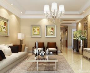 90平米二室二廳裝修效果圖 簡歐式風格