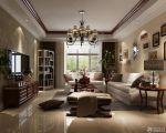 美式古典风格90平米房屋装修效果图大全