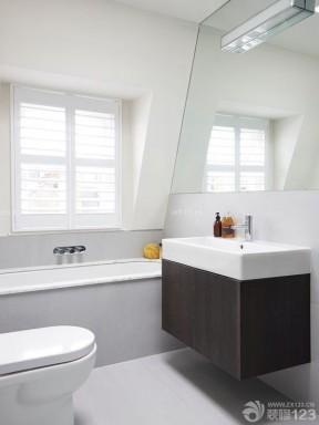 90平米裝修實景圖 房子衛生間