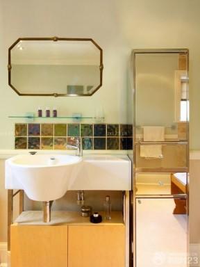 90平米裝修實景圖 衛生間鏡子