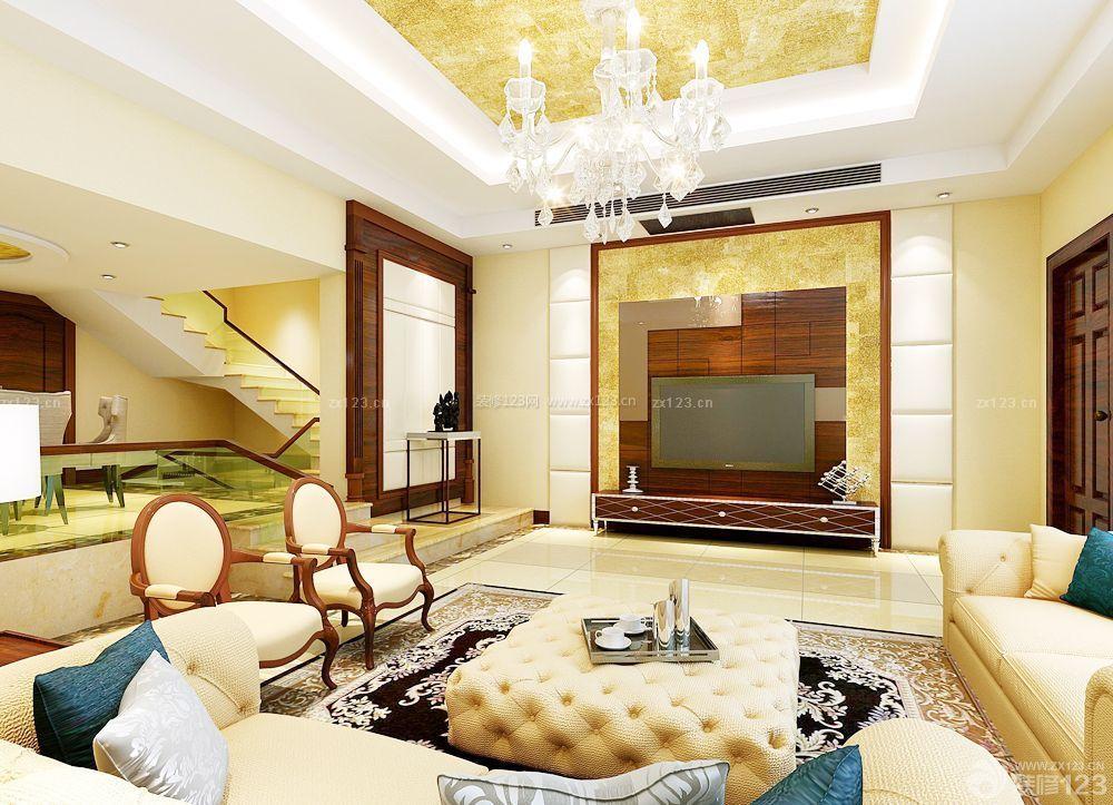 200平米房屋客厅装修效果图