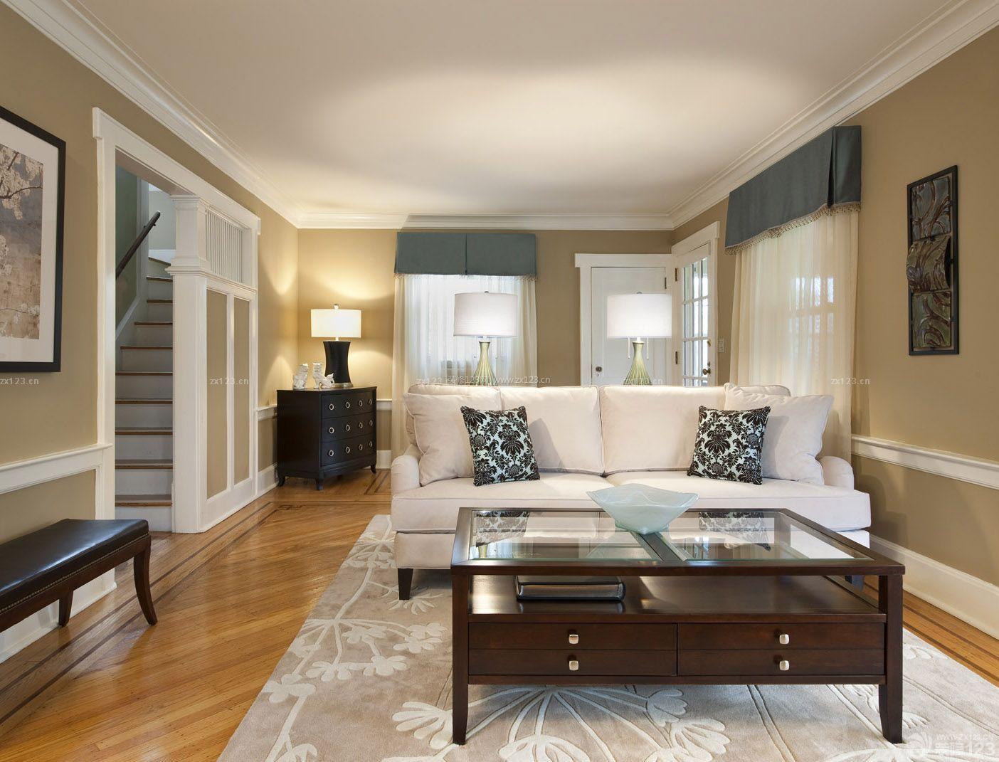 房子效果图美式美式设计115平米效果室内装修图片家装提供者烟台建筑设计招聘图片