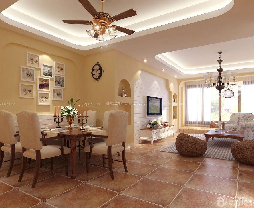 家装120平米房子小餐厅装修效果图片大全