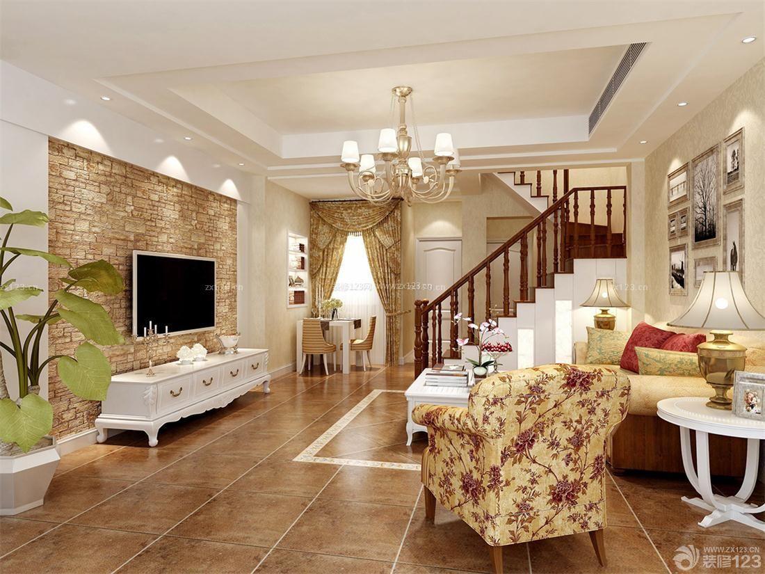 跃层式住宅130平米房屋装修效果图欣赏