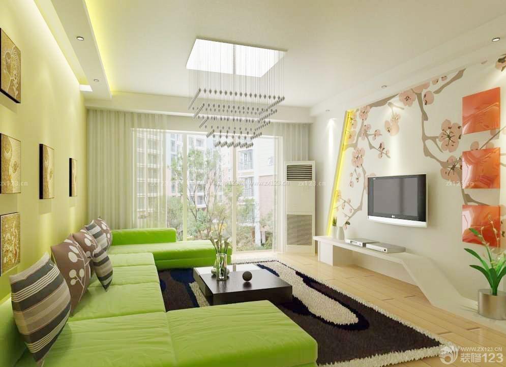 绚丽130平米房屋客厅吸顶灯装修效果图大全