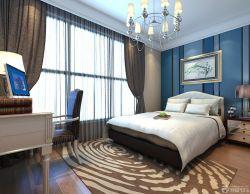 時尚溫馨130平米房屋臥室設計裝修效果圖