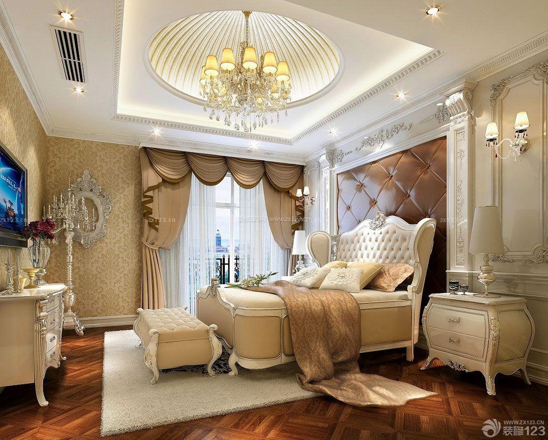 70平米小户型房屋欧式风格卧室装修效果图图片