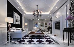 豪华三室两厅140平米的房子装修效果图