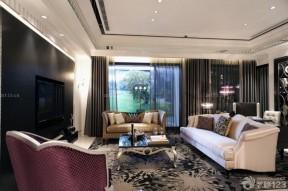 新古典裝修樣板房 客廳裝飾樣板房