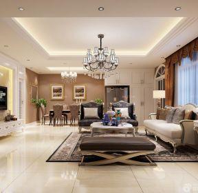 簡歐式風格90平米樓房裝修效果圖-每日推薦