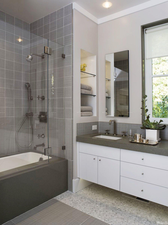 90平米三室两厅家庭浴室装修效果图