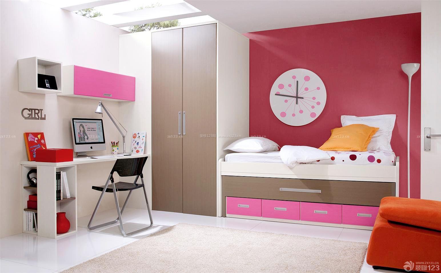 温馨可爱儿童房屋室内装修效果图
