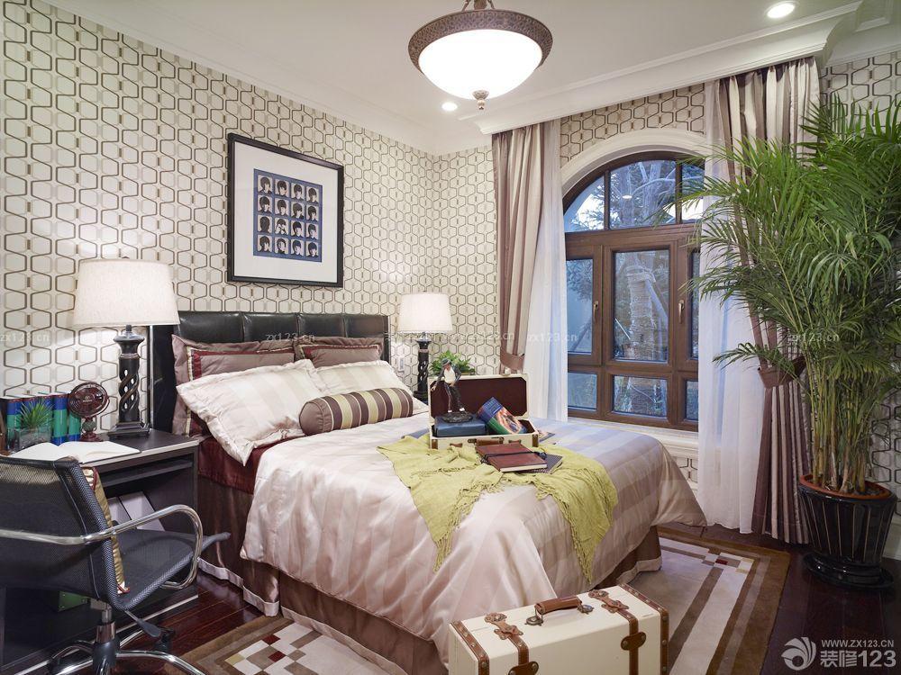 美式风格65平方房子装修效果图图片