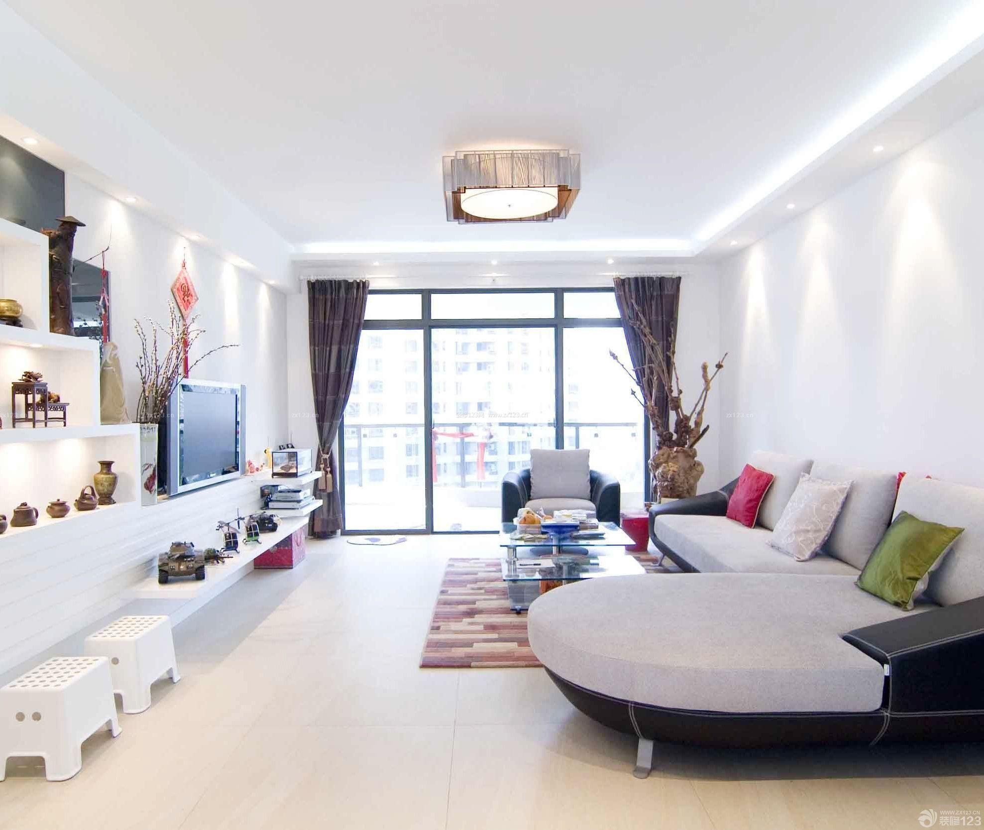 90平方房子最新客厅简单装修图