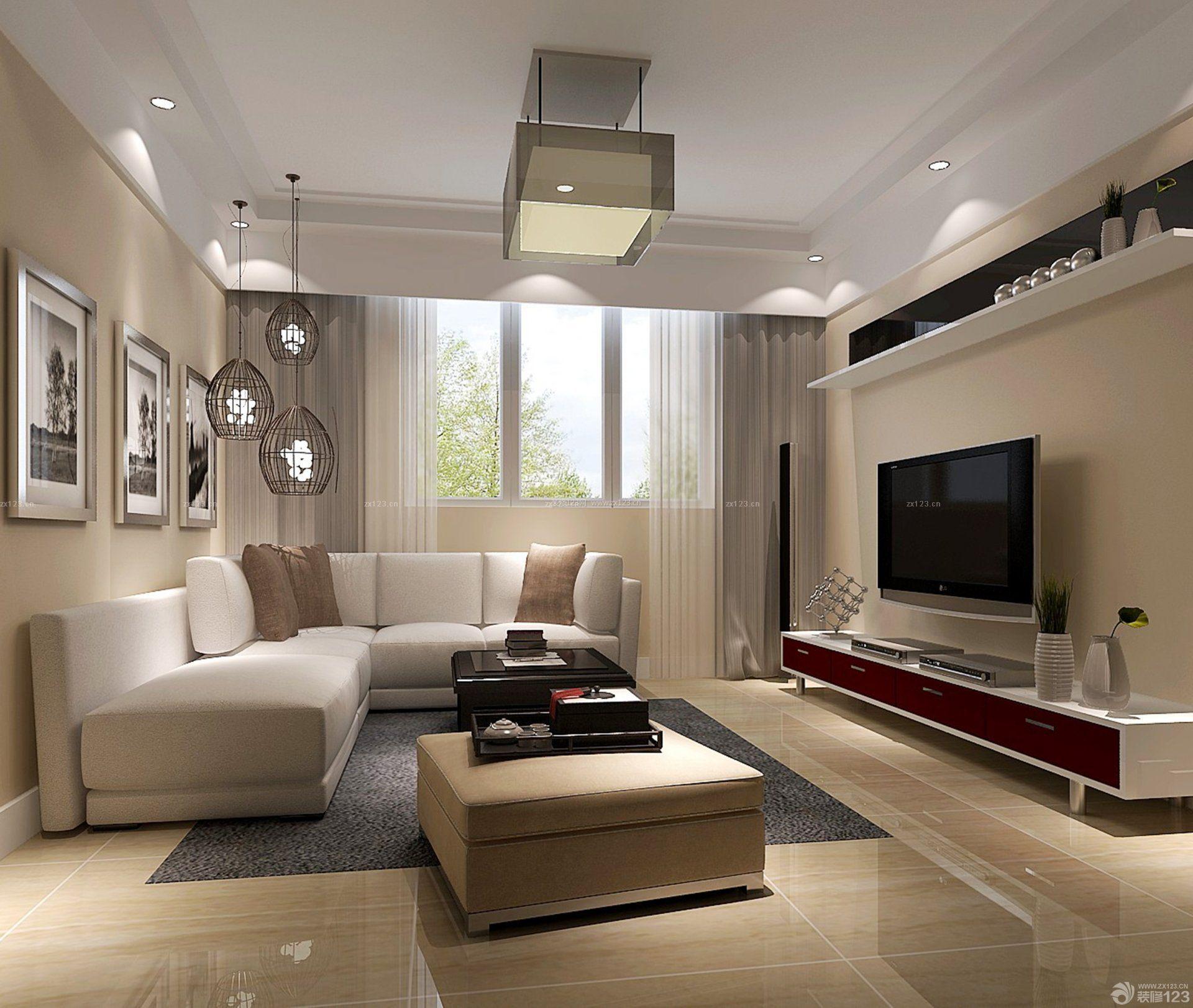最新90平方房子三室两厅简单装修图