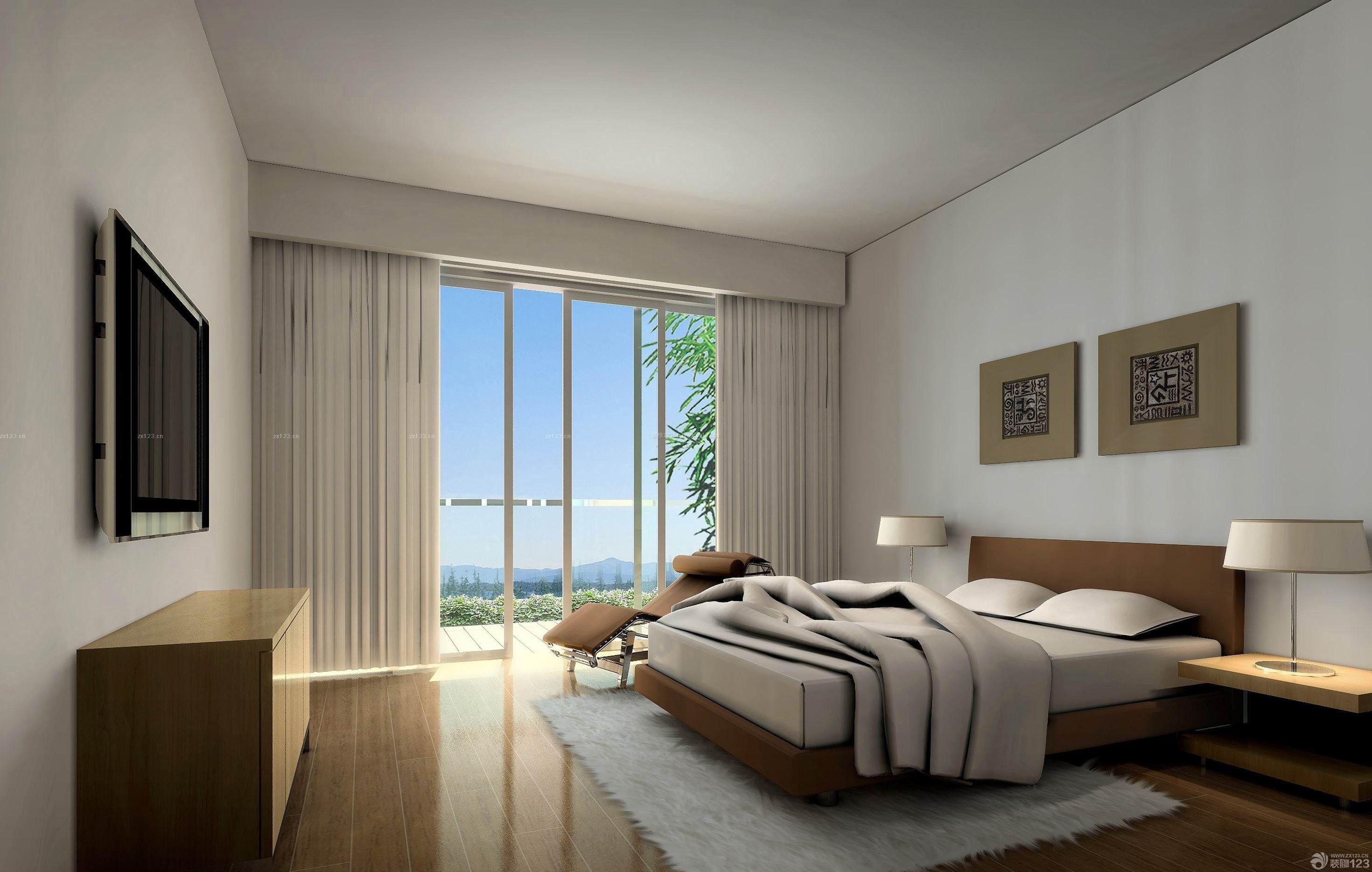 二室二厅简装80平米房间普通装修效果图片