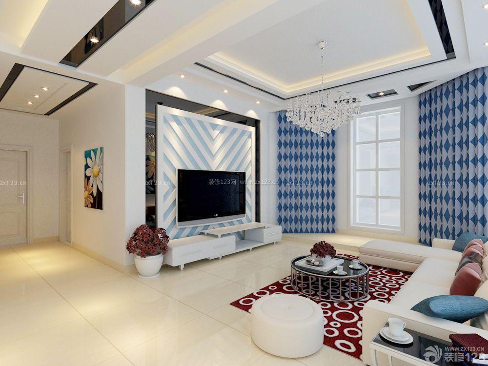 普通房子家装窗帘装修效果图_装修123效果图