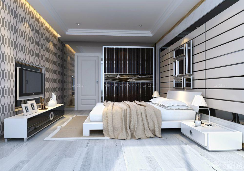 现代老旧房子床头背景墙装修效果图片