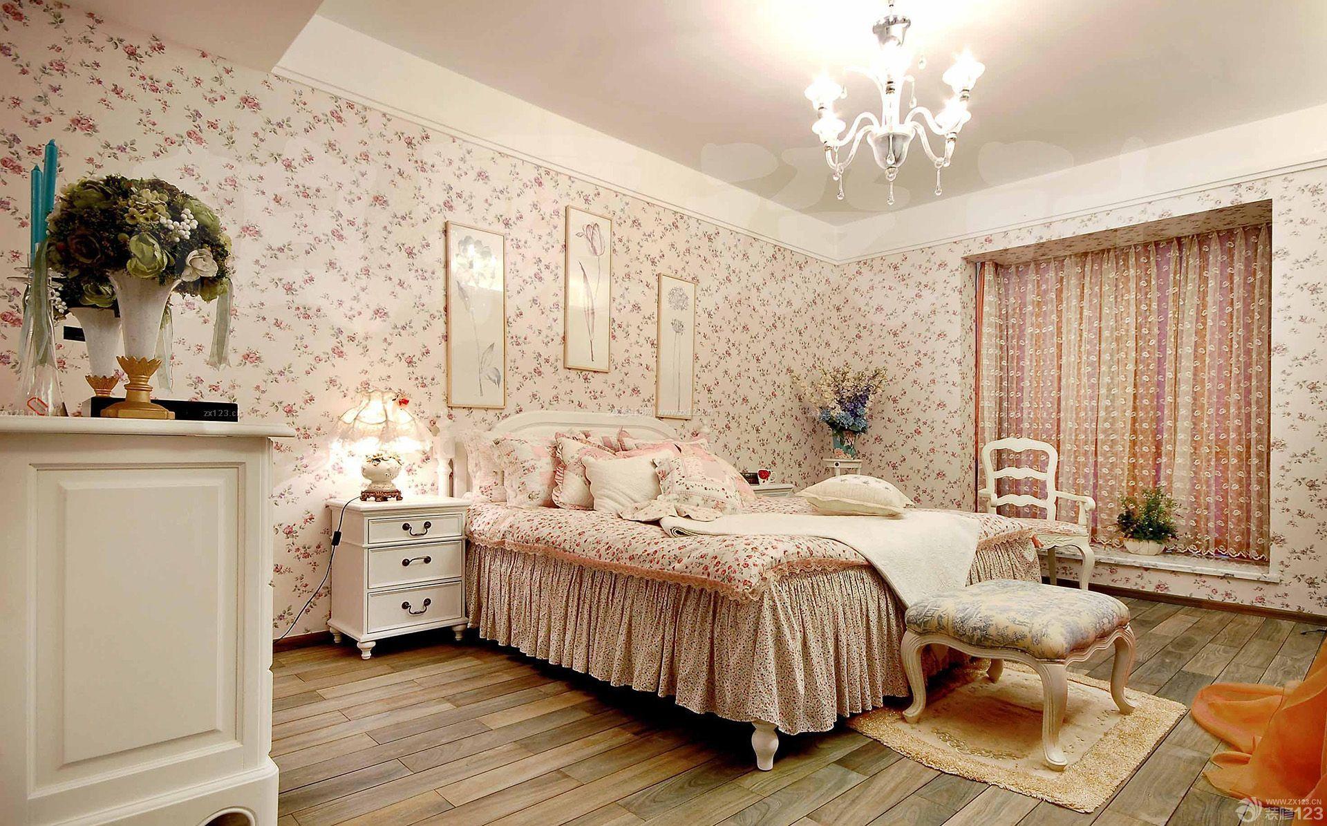 90平米温馨卧室房屋装修效果图大全
