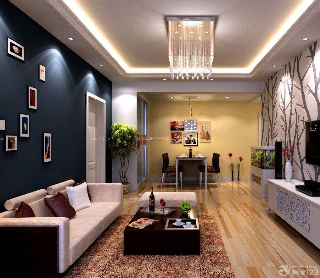 三室一厅一卫90平米房子客厅装修效果图