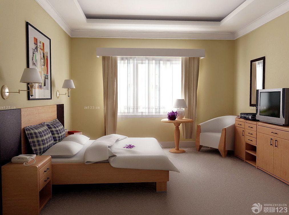 温馨家庭房子卧室装潢设计装修图片