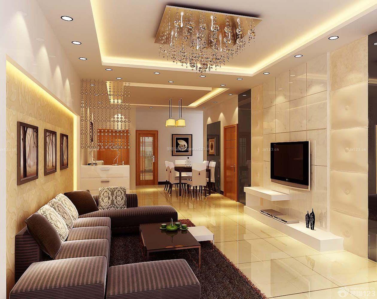 现代风格设计三室一厅一卫90平米房屋装修效果图
