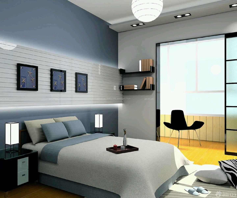 简单房子北欧风格卧室设计装修效果图