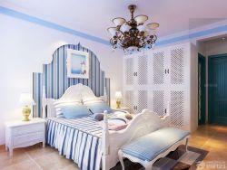 2015室內臥室床頭背景墻裝修裝潢效果圖片