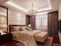 室內臥室床頭背景墻裝修裝潢效果圖片