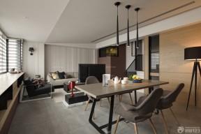 70平方三居室裝修 餐廳吊燈圖片