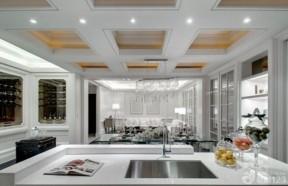 现代欧式风格 开放式厨房设计