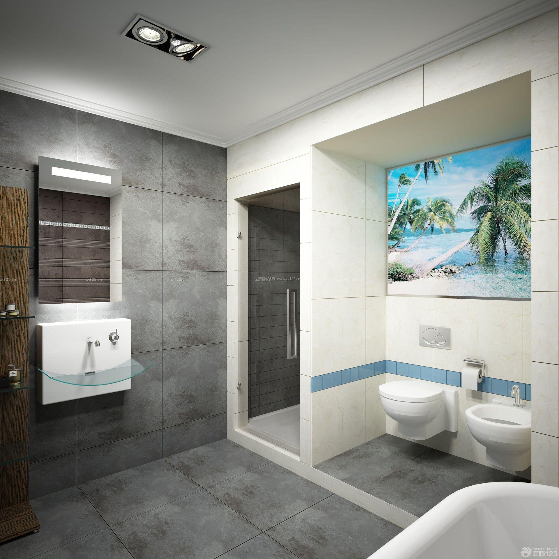 卧室内带卫生间的设计图展示图片