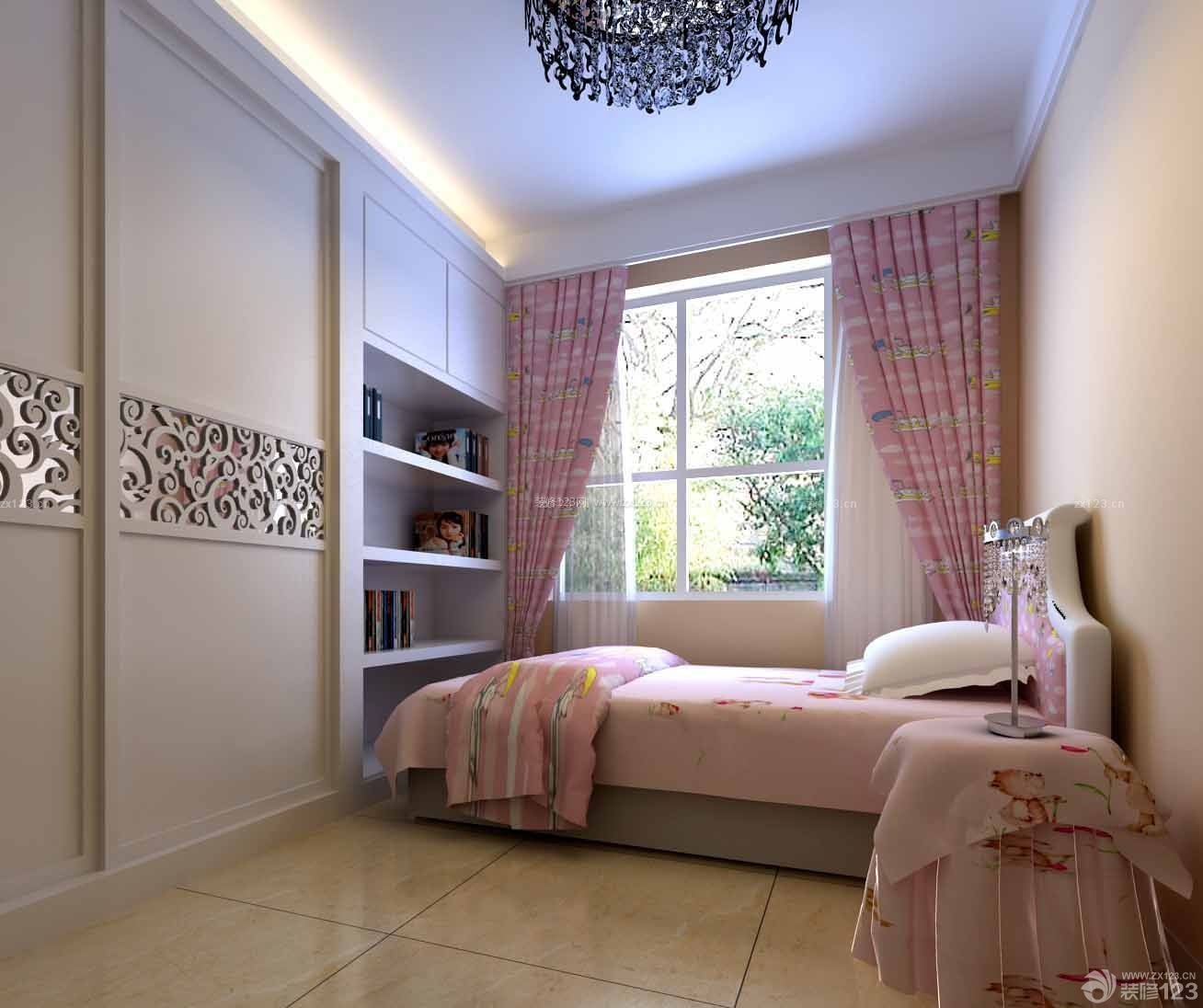 90平米复式房小型卧室装修效果图图片