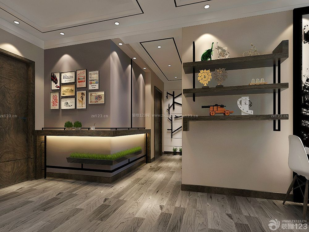 时尚室内客厅墙面装饰设计装修大全