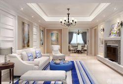 室內客廳地毯裝修方案