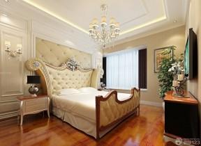 室內裝修方案 雙人床裝修效果圖片