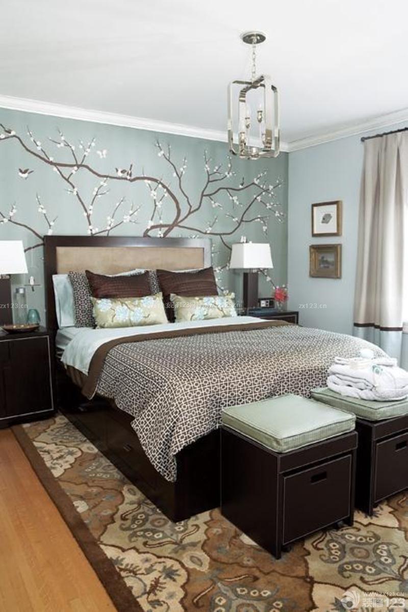 楼房室内卧室设计装修效果图