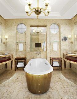 室內家庭浴室裝修設計方案欣賞