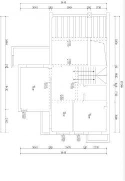 简约农村自建房150平米别墅户型图设计
