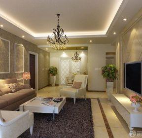 簡歐式風格90平米房屋裝修效果圖-每日推薦