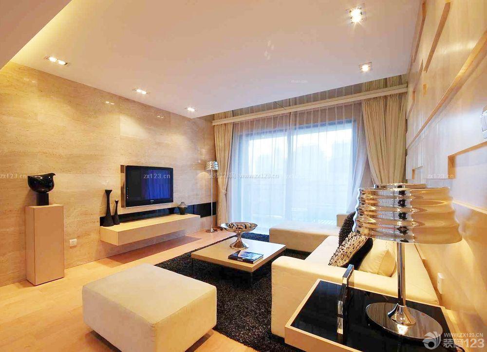 小户型室内家装客厅设计装修图