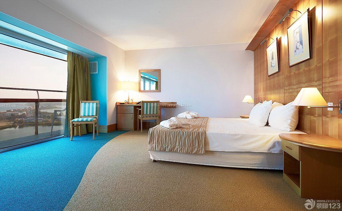豪华宾馆室内房间装修样板大全图片