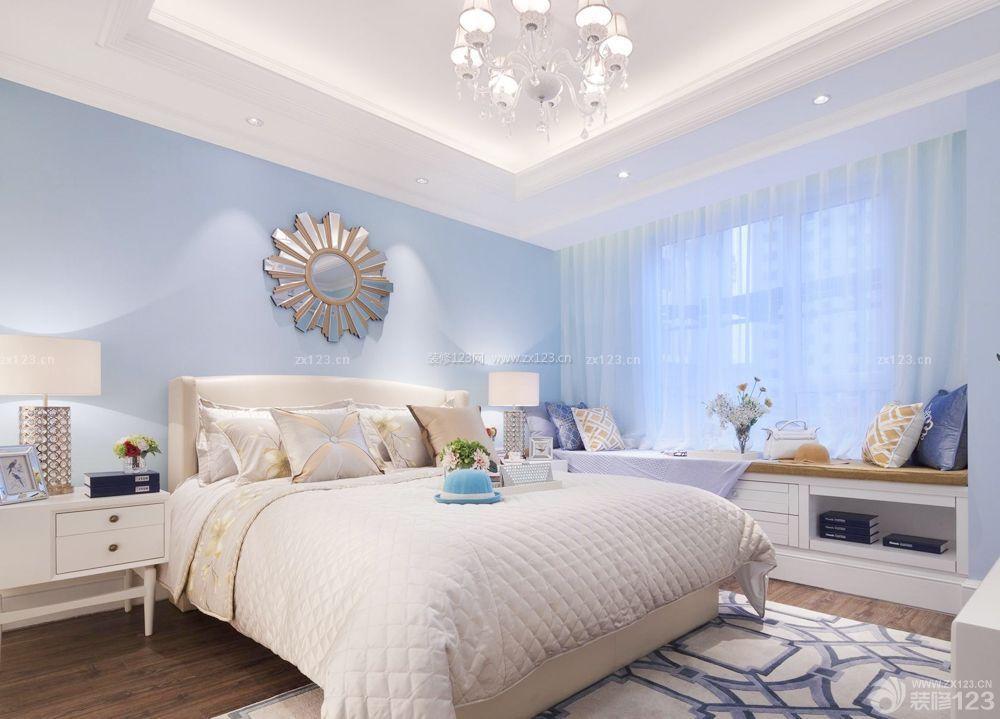 室内卧室榻榻米床装修与设计效果图