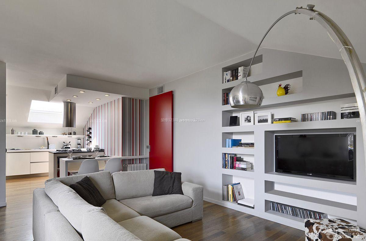 家庭室内书架设计装修效果图大全图片